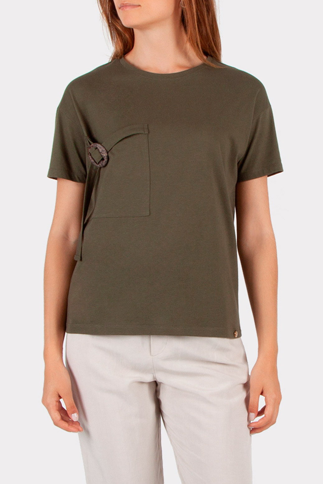 T-shirt with a  pocket