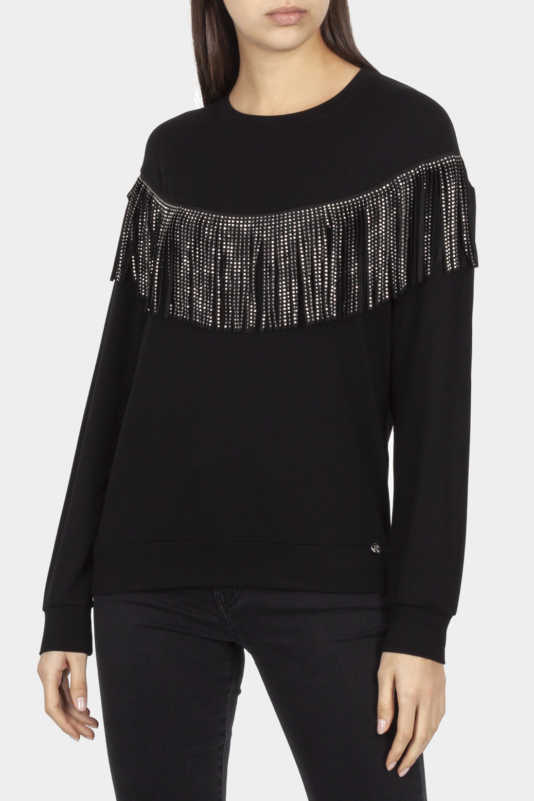 Top with fringes
