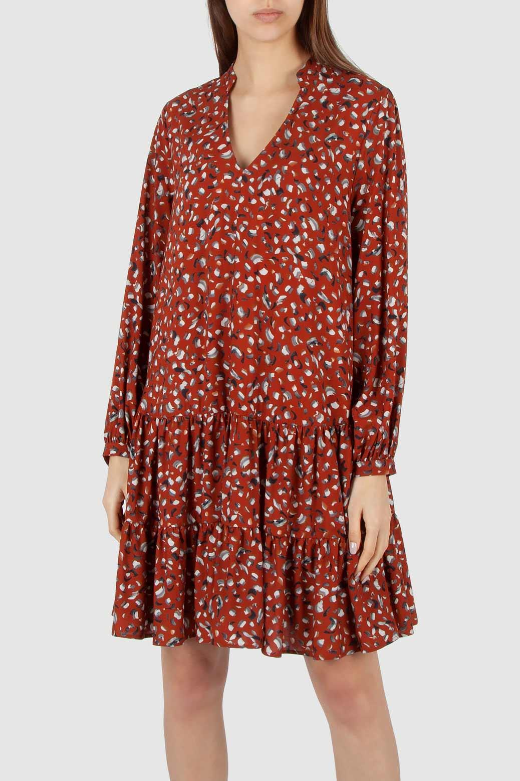 Wide dress