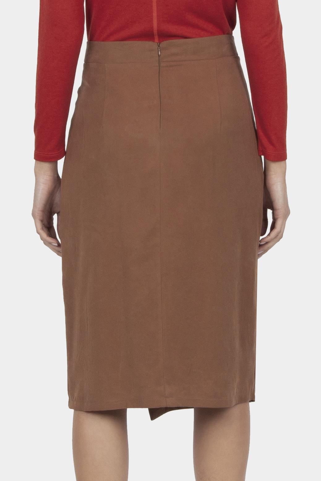 Wrapover skirt