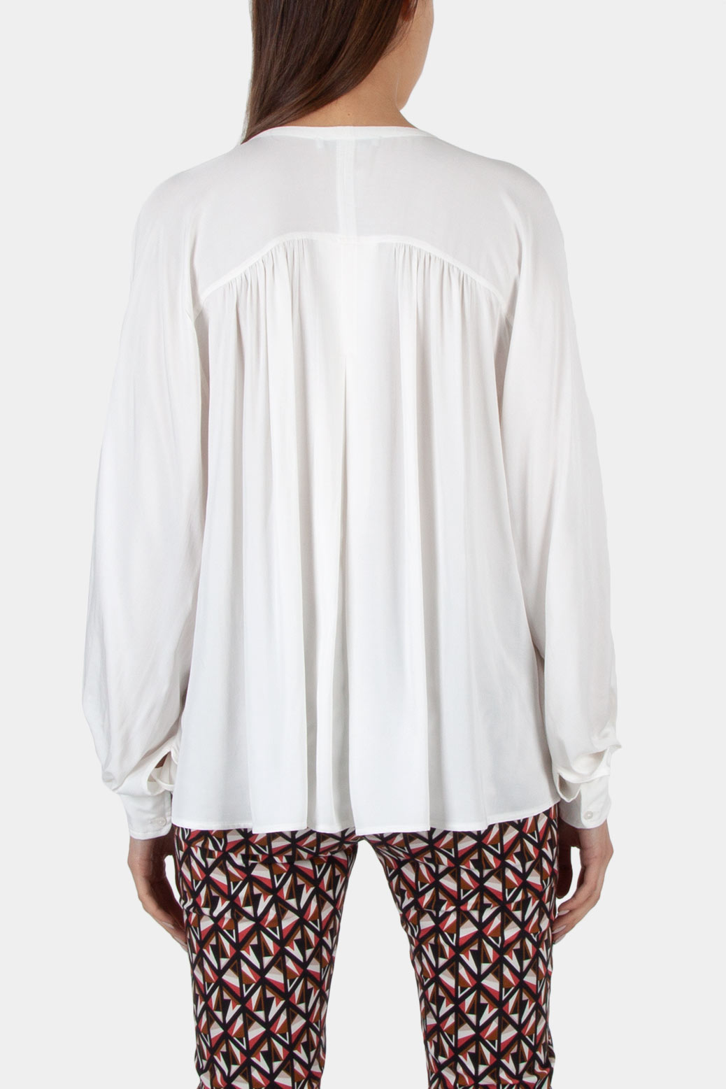 Wide blouse