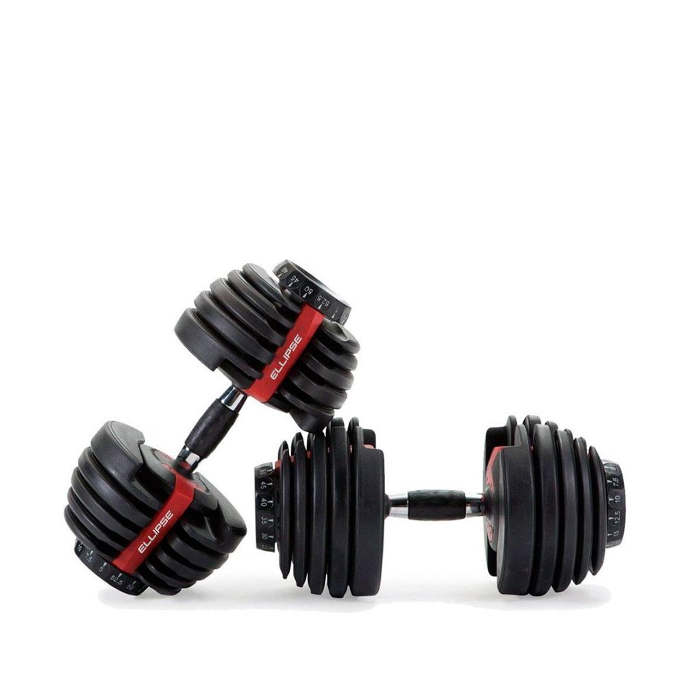 ADJUSTABLE DUMBBELLS - Ellipse Fitness