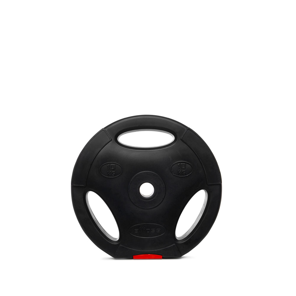 Disc w / handle - 10kg - Ellipse Fitness