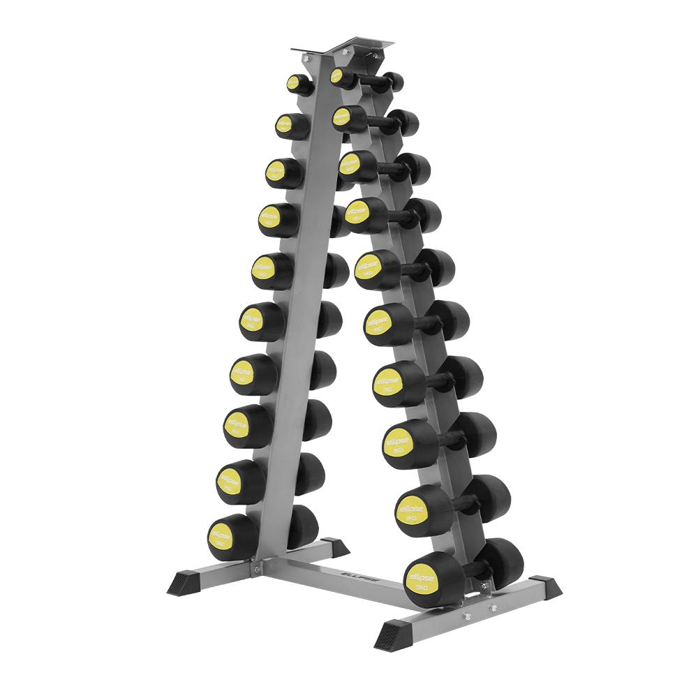 RUBBER DUMBBELLS SUPPORT - Ellipse Fitness