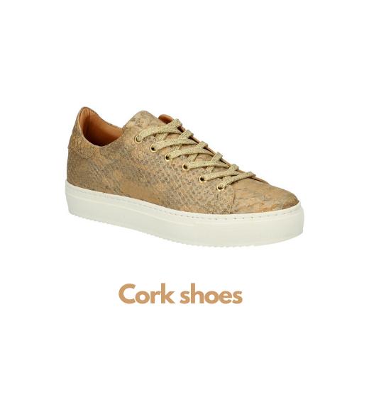 Cork shoes banner Luxzys - Luxzys